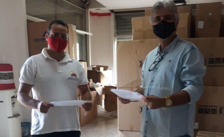 Cisape recebe kits da Fiocruz para exames da Covid-19 nos municípios consorciados