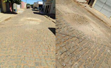 Falta de limpeza nas ruas incomoda moradores de Santa Filomena