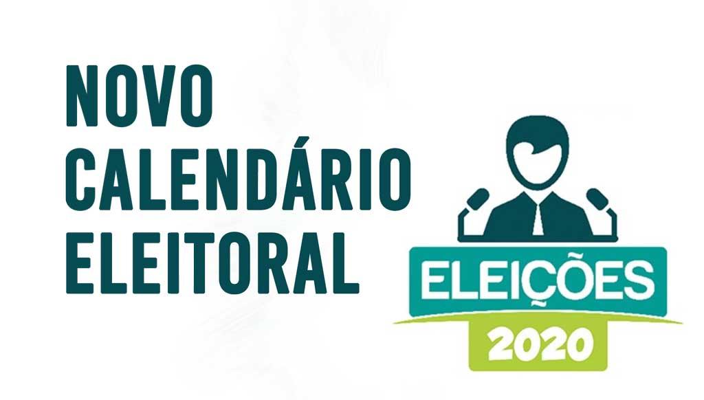 Novo Calendário Eleitoral com adiamento das eleições municipais para 15 de Novembro