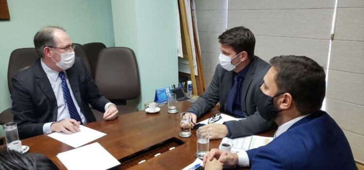 Presidente da ABRAPE faz primeira visita oficial ao novo secretário especial de Cultura