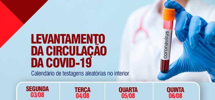 Covid-19: Prefeitura de Dormentes realiza novo levantamento do vírus na sede e no interior