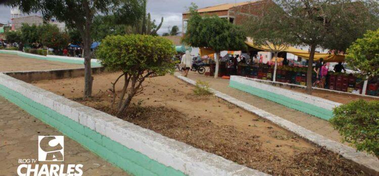 Desprezo pela Gestão de Santa Filomena com a Praça do Distrito do Socorro