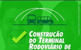 Afrânio: Rafael Cavalcanti não constrói terminal rodoviário prometido na campanha de 2016