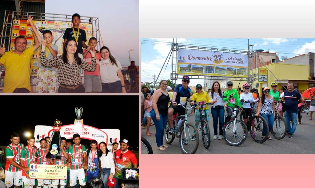 Prefeitura de Dormentes intensificou programas e ações voltados para a cultura, esporte e lazer