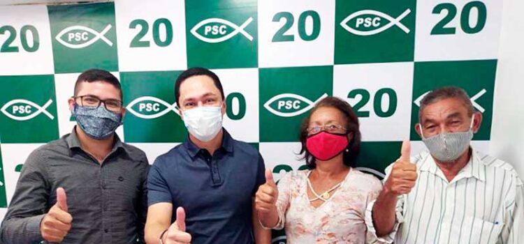 João Andrade recebe aval e apoio do PSC-PE para disputar Prefeitura de Trindade, PE