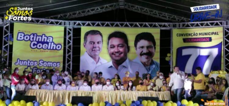 MPPE: Ação contra Botinha e coligação por aglomeração durante convenção (R$ 800 mil)