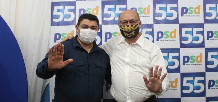 Presidente do PSL participa de convenção para lançar Gildevan e Francinete em Santa Filomena-PE