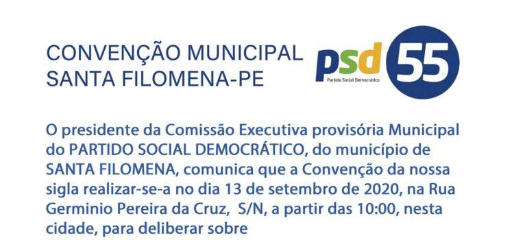 PSD oficializa sua convenção municipal em Santa Filomena-PE