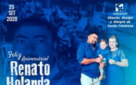 Parabéns Renato Holanda, por mais um ano de vida promovendo amizade e esperança ao povo filomenense!