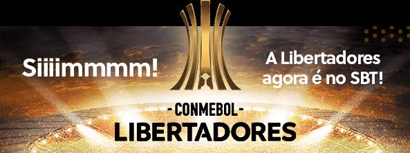 Nesta quarta SBT transmite mais dois jogos da Copa Libertadores