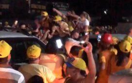 Ouricuri: Show de irresponsabilidade, aglomeração e descumprimento do decreto estadual marca convenção de Lenart Coelho