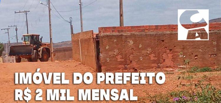 Galpão do Prefeito Cleomatson locado à Prefeitura por R$ 24 mil/ano em nome de laranja