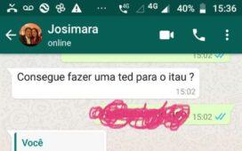 Urgente: Josimara Cavalcanti tem número de WhatsApp clonado e criminosos pedem dinheiro aos contatos