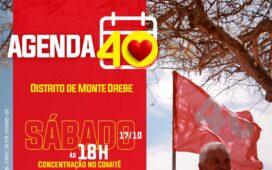 Dormentes: Josimara e Corrinha realizam encontro no distrito de Monte Orebe neste sábado (17)