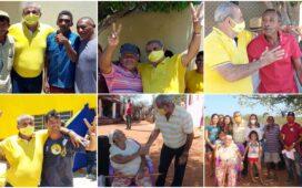Alegria e reconhecimento do povo de Afrânio marcam a caminhada de Adalberto Cavalcanti