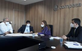 Antonio Fernando reúne com presidente da Compesa e defende obras hídricas para o Sertão do Araripe