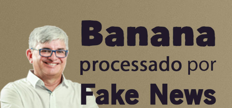 Blogueiro Ricardo Banana é processado por divulgar notícia falsa contra Gildevan Melo
