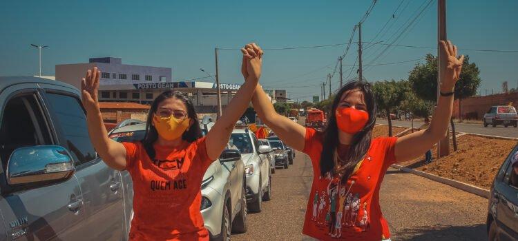 Josimara e Corrinha lideram pesquisa com mais de 19 pontos de frente em Dormentes