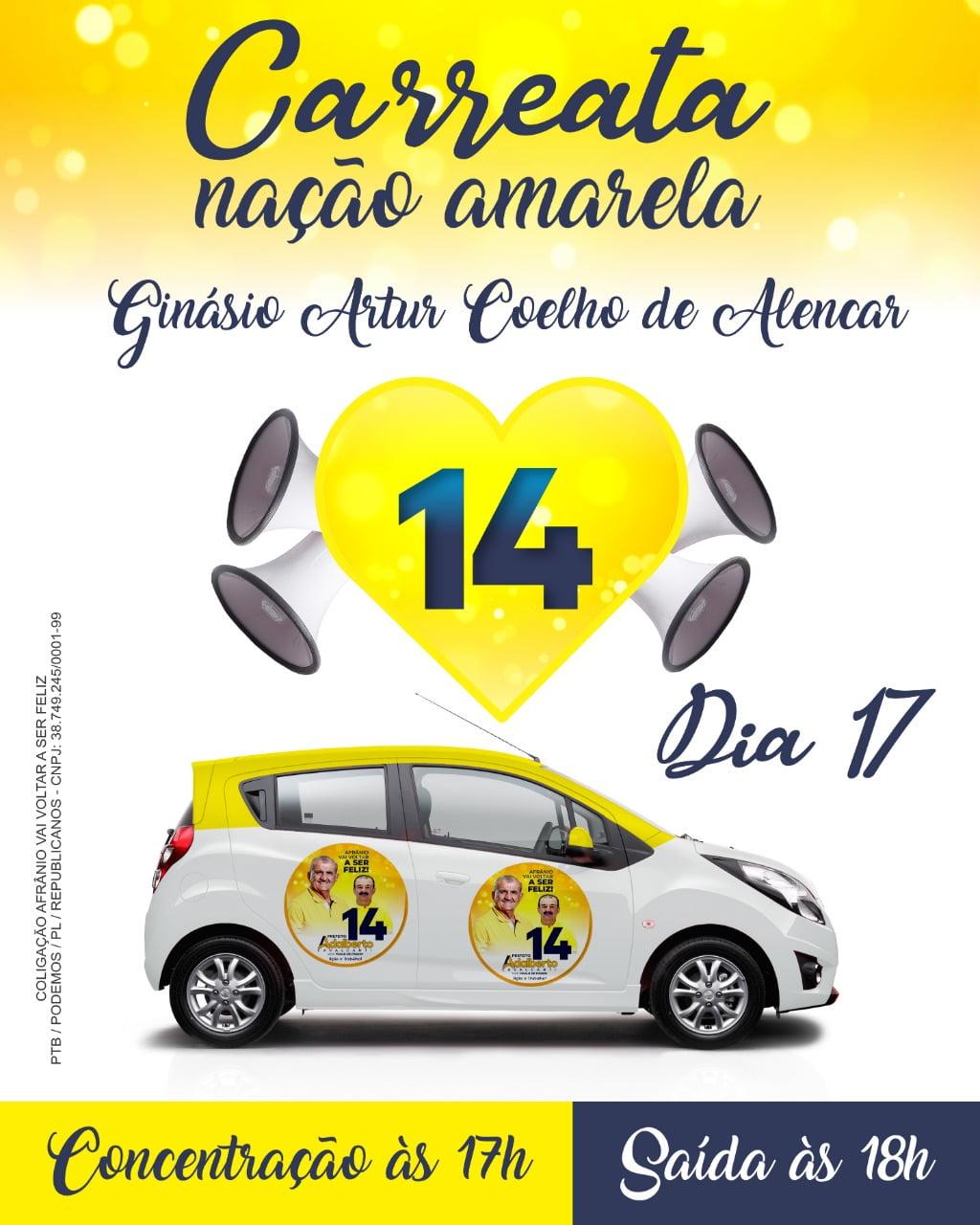 Adalberto Cavalcanti e Paulo de Passim preparam Carreata 14 pelas ruas de Afrânio nesta sábado