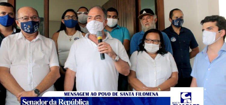 """Senador Fernando Bezerra diz """"o que resta ao prefeito é rezar pra Gildevan não ser candidato"""""""
