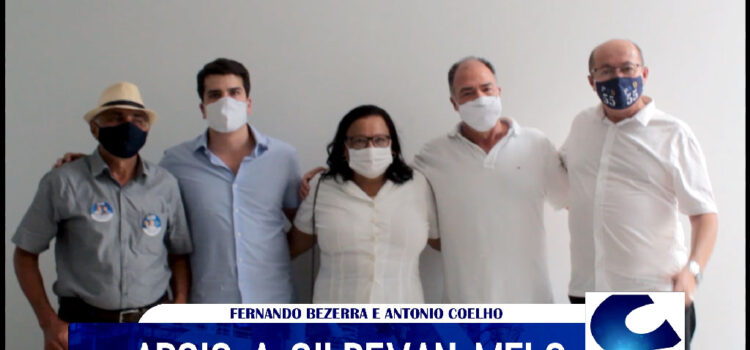Renovando o apoio, Gildevan Melo lembra as grandes ações de Fernando Bezerra em Santa Filomena