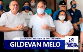 """Gildevan diz """"é a gente ganhar a eleição e no outro dia bater na porta do Senador"""""""