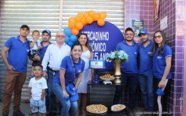 Santa Filomena: Mercadinho Econômico comemora 15 anos com grande festa!