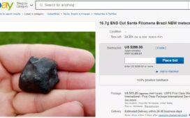 Após comprarem meteoritos de moradores do Sertão de Pernambuco, estrangeiros vendem na web até 10 vezes mais caros