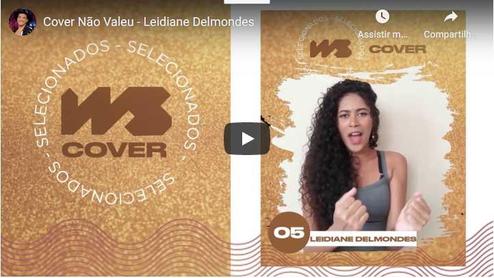 Cantora do Sertão Leidiane Delmondes entre as 10 melhores, concorre ao WS Cover; Veja como votar