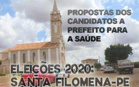 Eleições 2020: os planos dos candidatos a prefeito de Santa Filomena para a Saúde