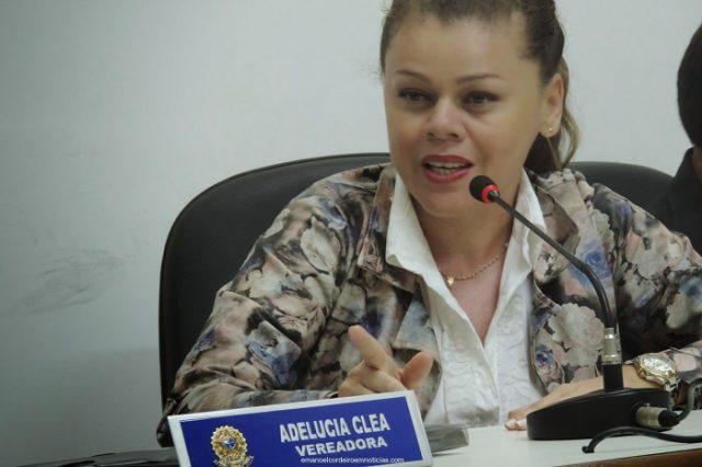 Vereadora Adelucia vem trilhando uma carreira de sucesso na política de Ouricuri