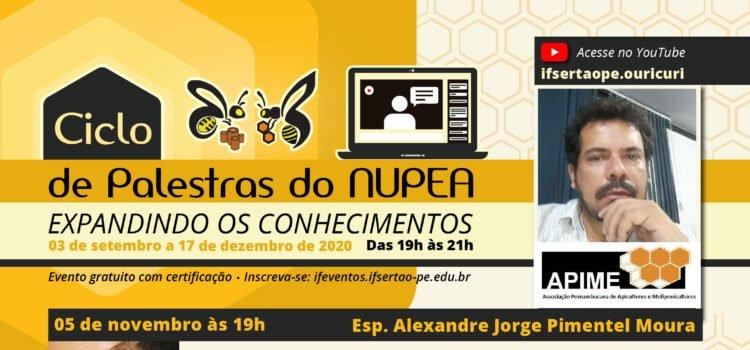 "Campus Ouricuri promove palestra ""Conhecendo a abelha Uruçu (Melipona scutellaris)"""