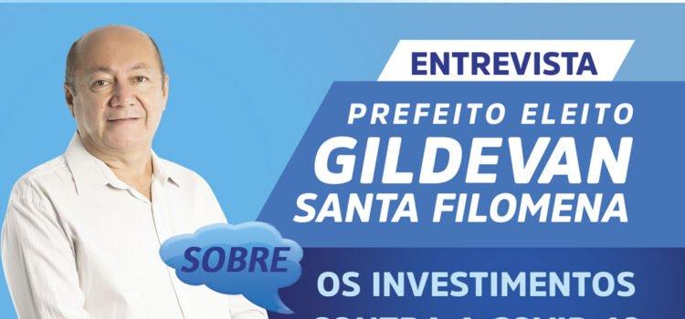 Prefeito Gildevan questiona falta de investimento na saúde com recursos da pandemia