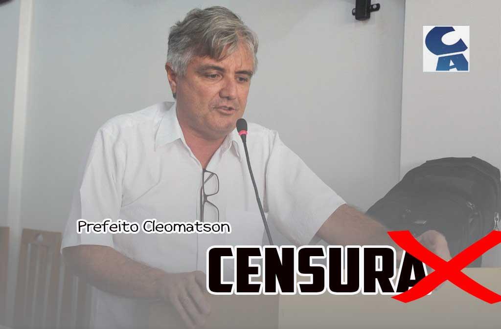Prefeito Cleomatson é derrotado na Justiça em tentativa de censura ao Blog Charles Araújo