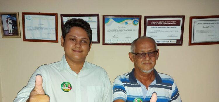 """Casa Nova: Candidato a vereador Pinto Filho garante """"estou pronto pra dar continuidade ao trabalho que meu pai realizou em nosso município"""""""