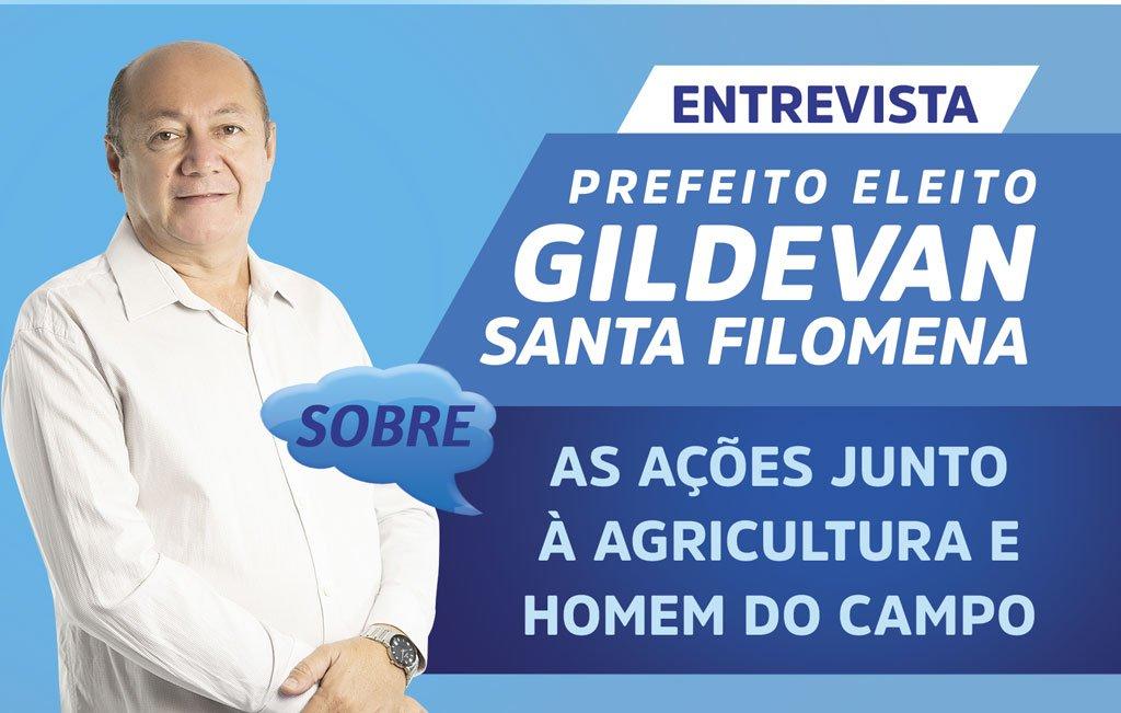 Prefeito eleito renova compromisso com o homem do campo do município de Santa Filomena