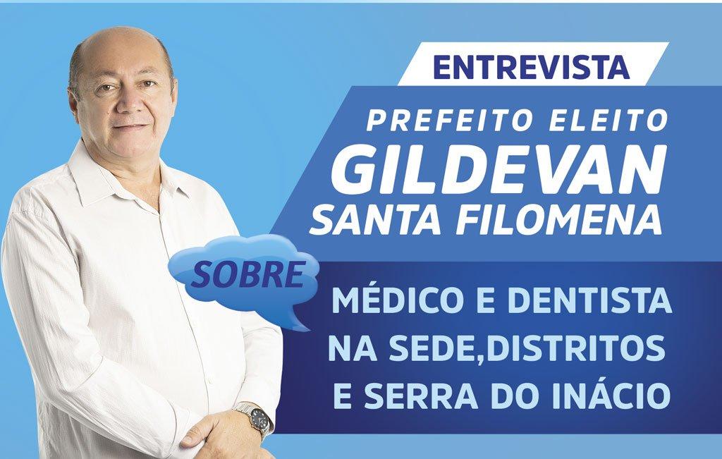 Prefeito eleito garante médico e dentista em todas as UBS's do município de Santa Filomena