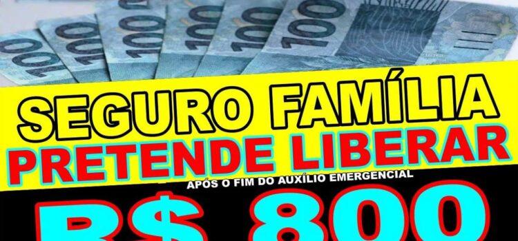 Benefício de R$ 800 após pagamento de Auxílio Emergencial de R$ 300? Conheça a proposta