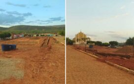 Em fim de mandato Prefeito inicia obra em Poço Comprido e comunidade reprova o local