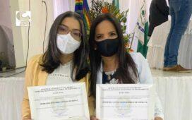 Josimara Cavalcanti e Corrinha de Geomarco são diplomadas prefeita e vice de Dormentes