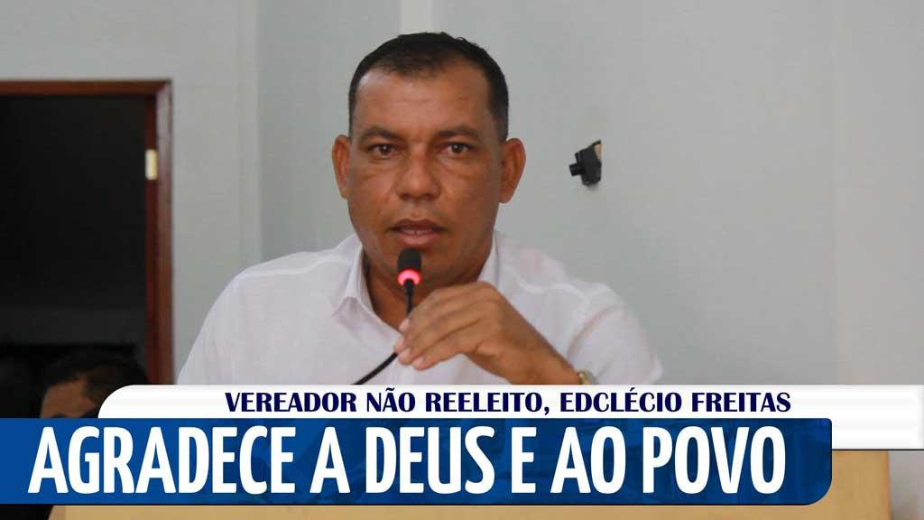 Vídeo: Com discurso emocionado Edclécio Freitas conclui seu mandato na…