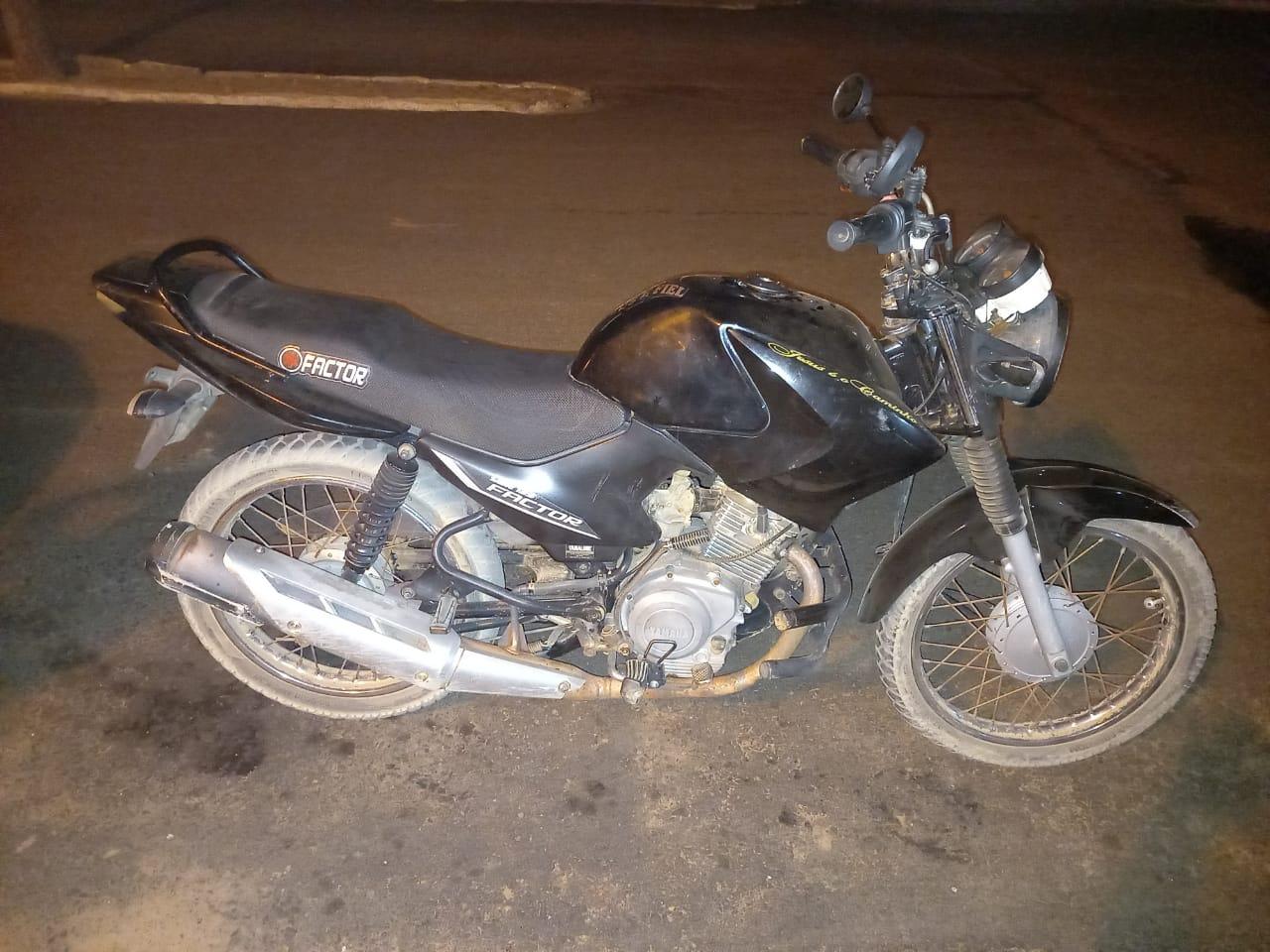 Homem é preso em Betânia acusado de roubar motocicleta Santa Filomena