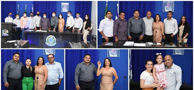 Fábio e Luzinete são empossados prefeito e vice em Betânia do Piauí