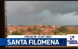 Em Santa Filomena continua chovendo e previsão é de mais chuvas; vídeo