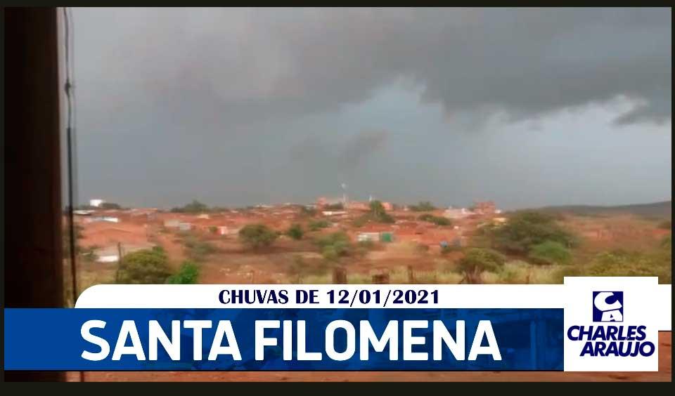 Em Santa Filomena continua chovendo e previsão é de mais…