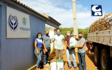 Santa Filomena recebe sementes de milho e sorgo para agricultores