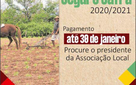 Garantia-Safra 2020/2021: Prefeitura de Dormentes inicia entrega de boletos