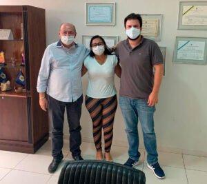 Gildevan, Ivoneide e Fernando Filho