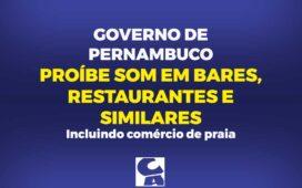 Governo de Pernambuco decreta novas regras no enfrentamento do Coronavírus