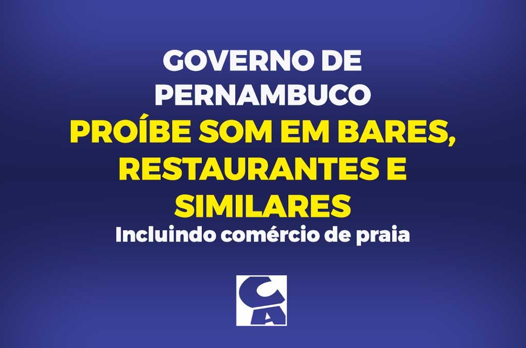 Governo de Pernambuco decreta novas regras de enfrentamento ao Coronavírus